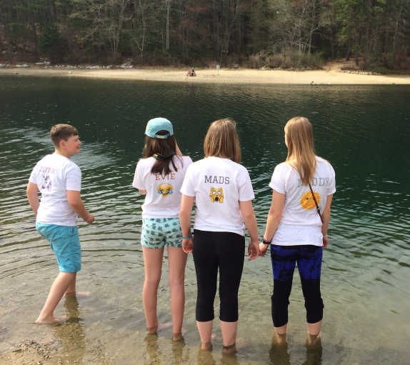 Junior Youth at Walden Pond 4-29-2017 B