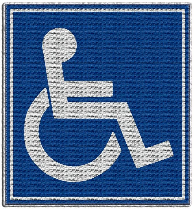 wheelchair - disability symbol